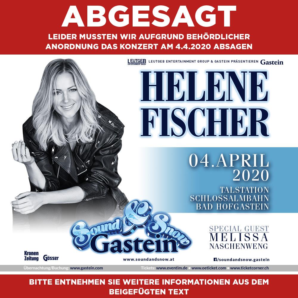 Helene Fischer Buchen Gage